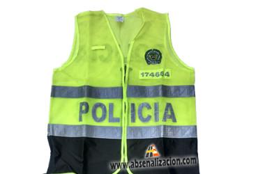 Chaleco Policia Nacional