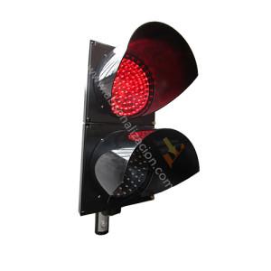 Semaforos en rojo