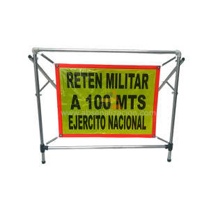 Elementos para Reten militar ejercito